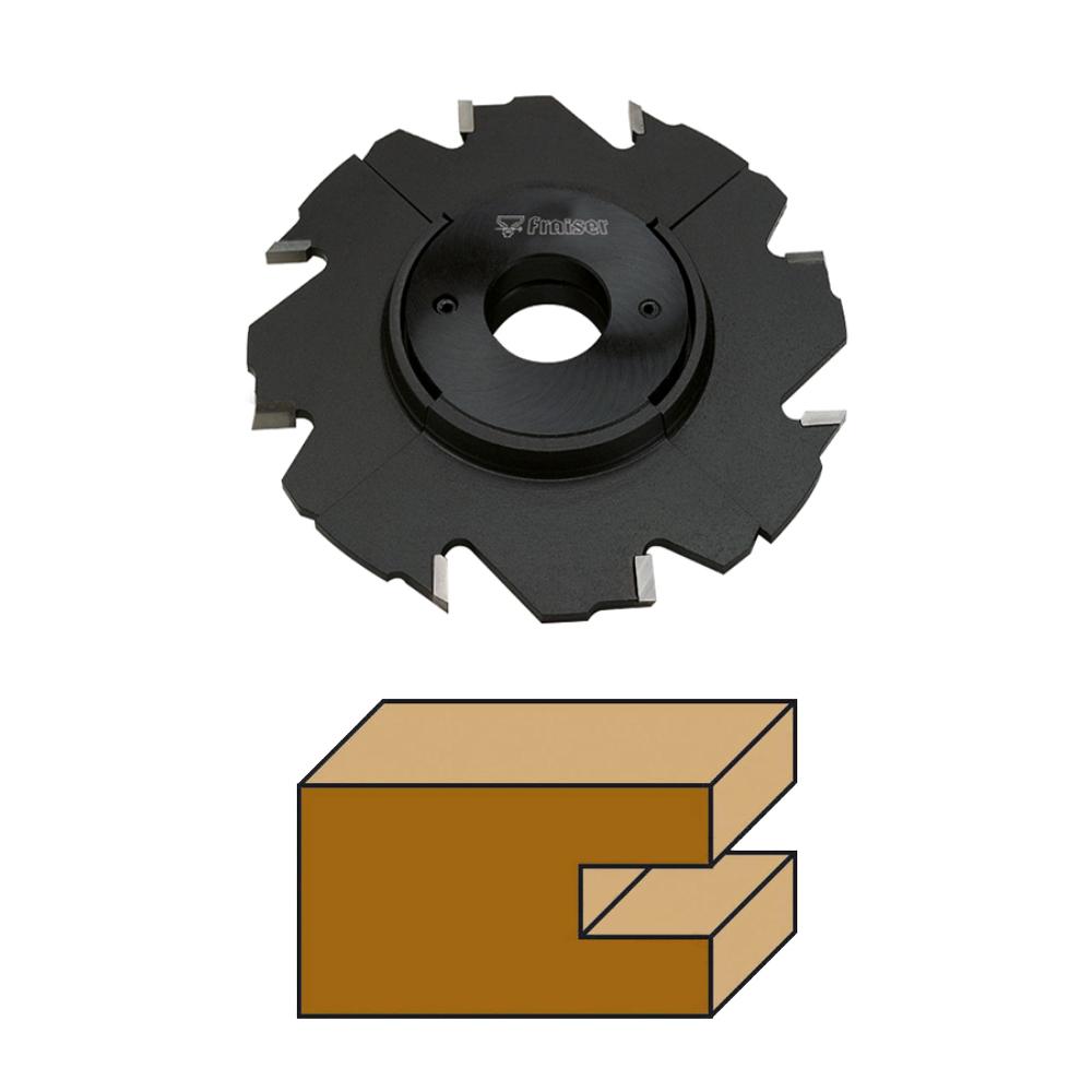 Fraiser FR.111 - 2 Piece adjustable grooving sets HW