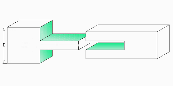 Fraiser FR.112 - Slot cutter - example