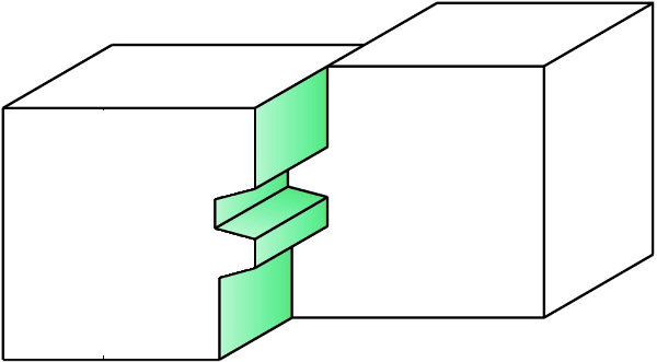 Hw glue joint bits Z=2 - milling example