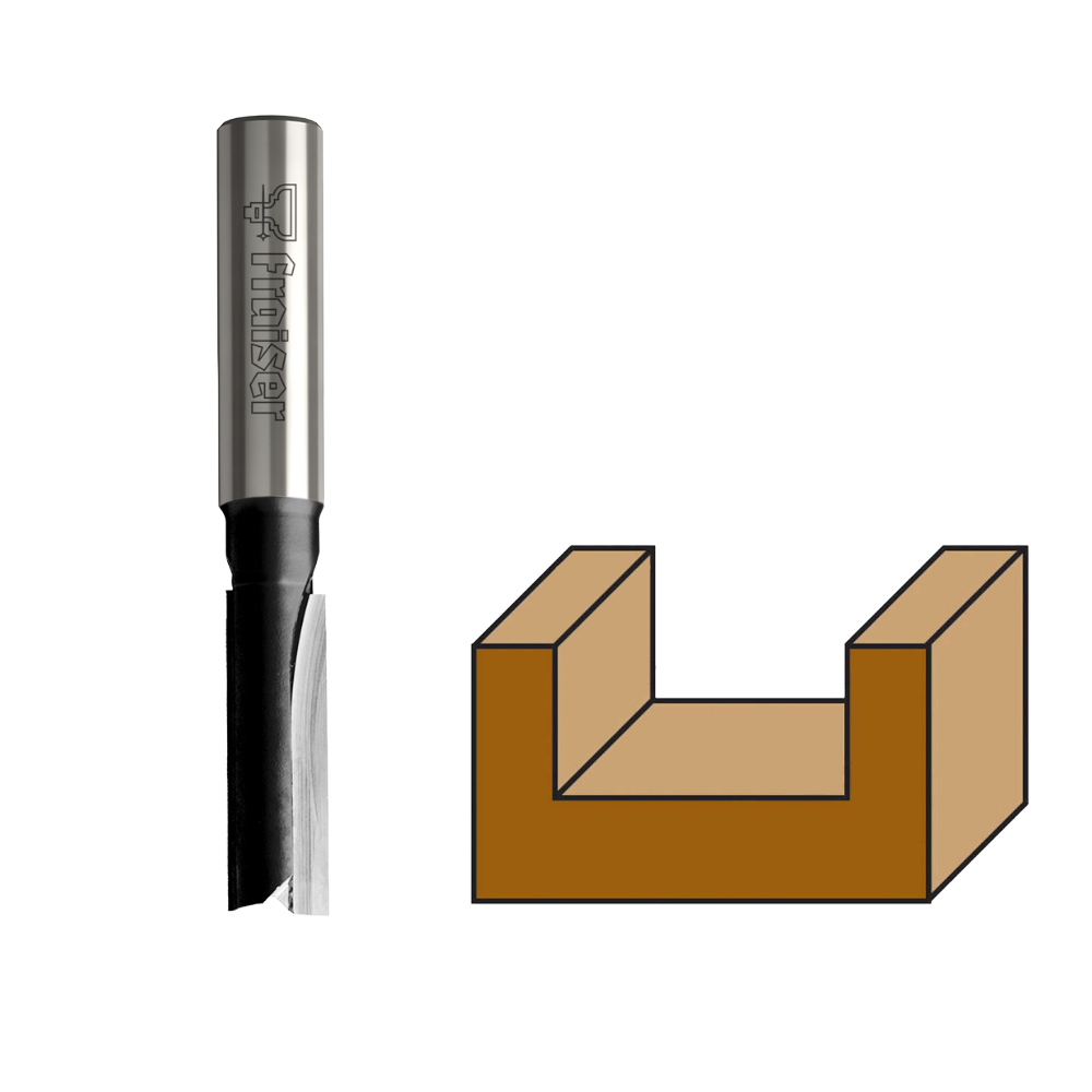 Fraiser FR.103 - HW Straight router bits, long series