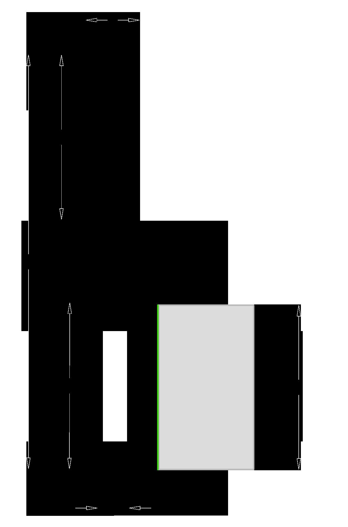 Fraiser FR.108 - Fresa a taglienti dritti per mortasare con rompitruciolo - Destra - scheda tecnica