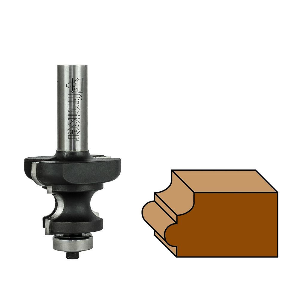 Hw moulding bits with ball bearing guide z=2 -Type 2