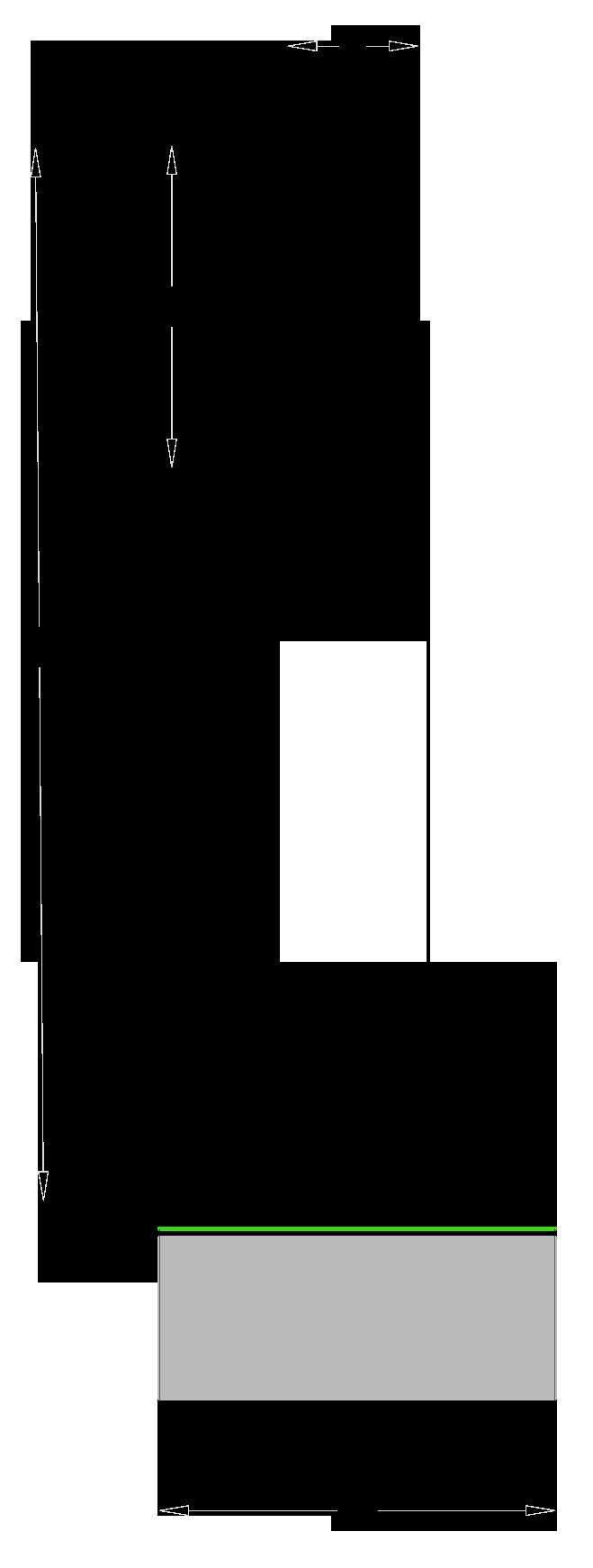 Fresa per trapano a colonna in Acciaio SP - disegno tecnico