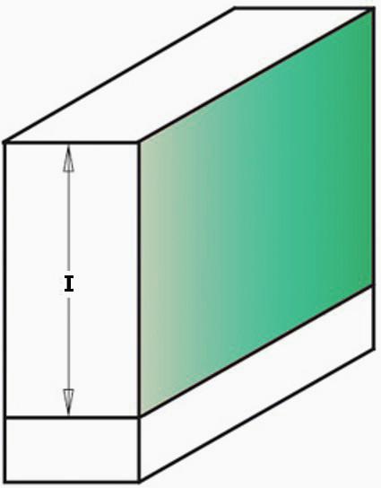Fresa in PKD diamante per rifilare con cuscinetto Z=2 - esempio fresata