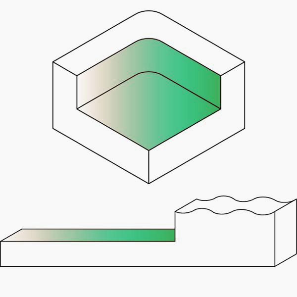 Fresa livellatrice per spianare - dimostrazione fresata