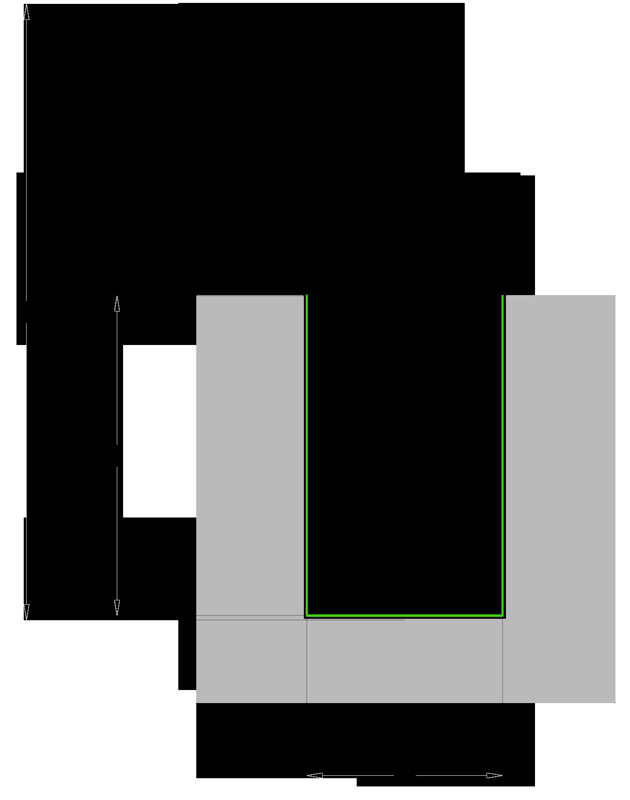 Fresa in PKD diamante a taglienti elicoidali assiale 20° - disegno tecnico