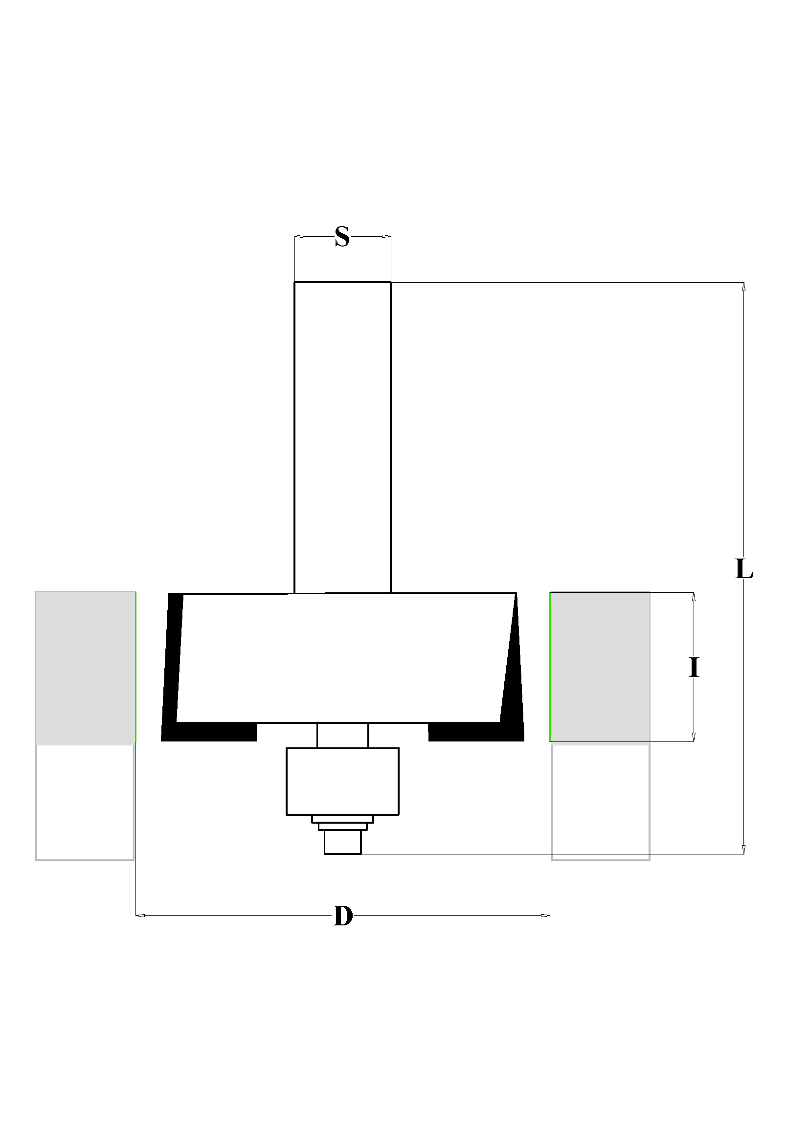 Fraiser FR.105 - Fresa a gradino HW - scheda tecnica