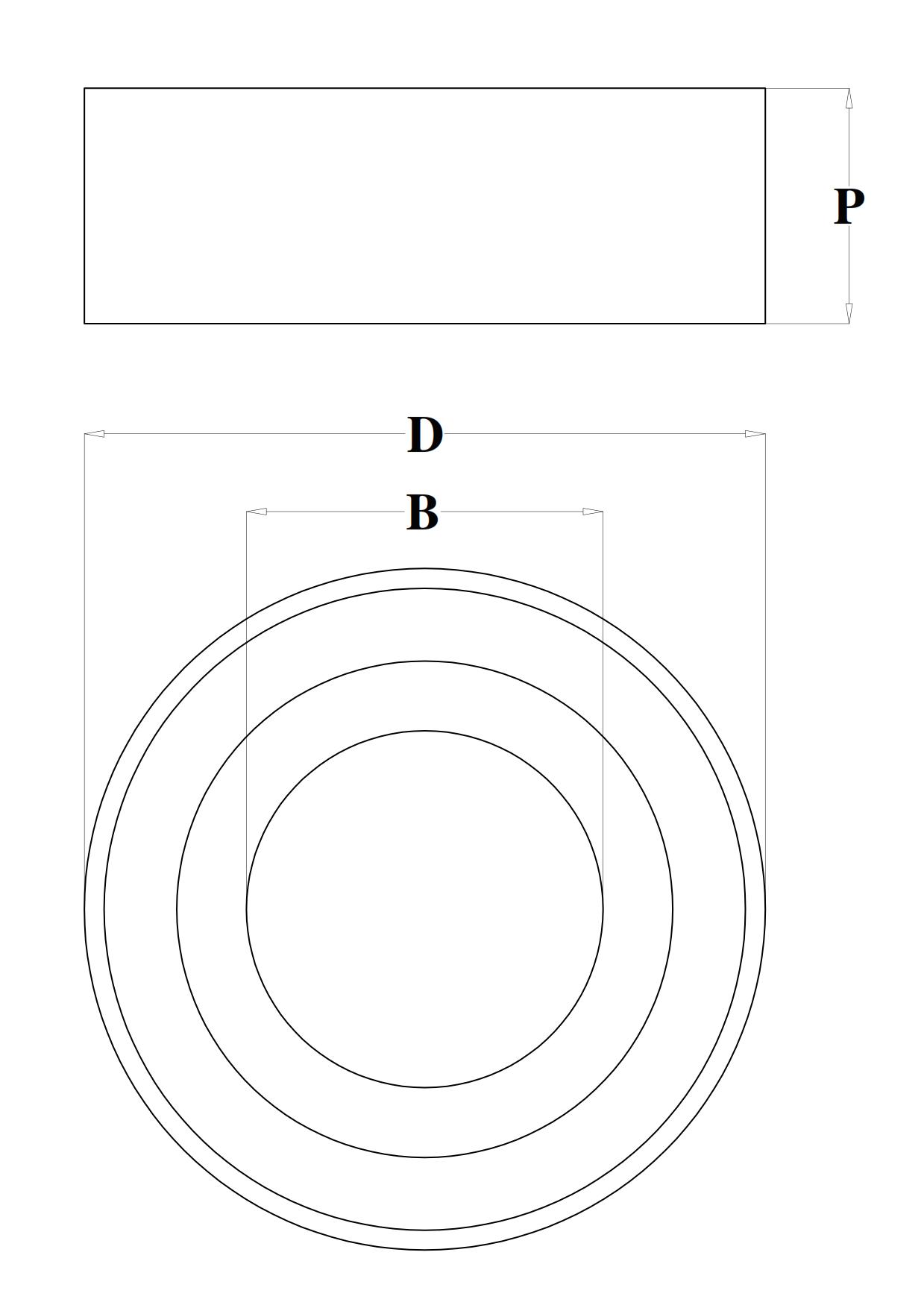 Anelli di serraggio cuscinetto - scheda tecnica