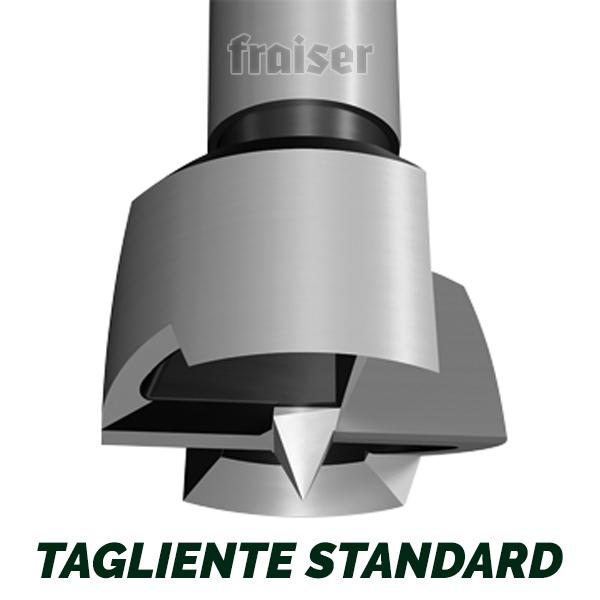 per trapano tipo Forstner - Tagliente standard - dettaglio