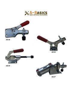 Toggle hold down clamp for woodworking