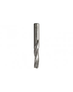 Solid carbide downcut spiral bits with chipbreaker z3