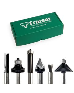 MANUAL COMPLETE BOX - Router bits Kit shank 8mm