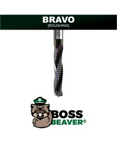 BRAVO | Spiral Covered Router Bit  [UPCUT]