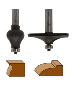 Table edge and hand rail router bits