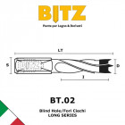 Dowel Drills Bits 4 FLUTE - Long Series | BITZ