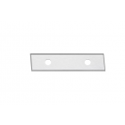 Solid Carbide Insert Knives - 4 Cutting Edges [Right]