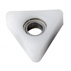 Delrin® triangular bearings