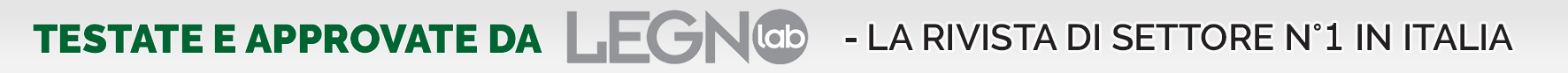 Testate e Approvate da Legnolab