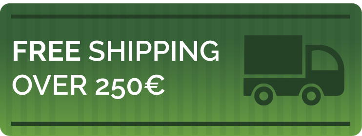 Free shipping over 250€